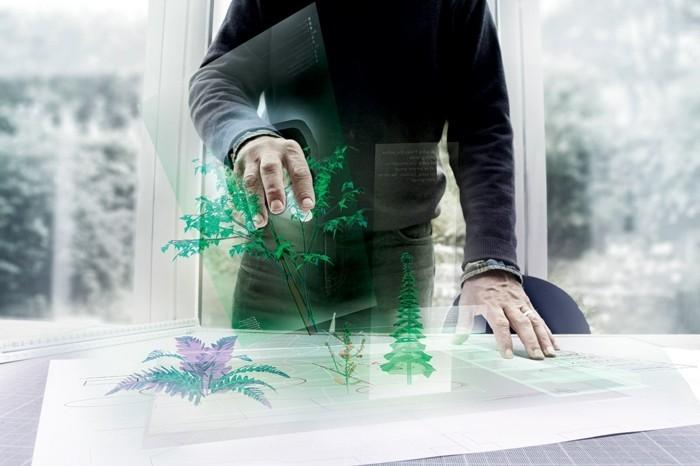 erweiterte realität ar augmented reality zukunft 3d technologie