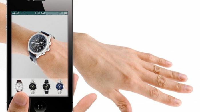 erweiterte realität ar brille agmented reality armbanduhr
