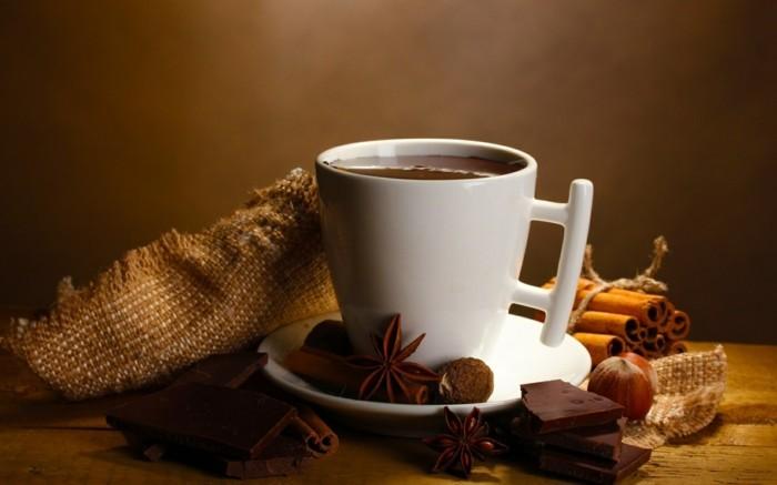 exotisxhe zutaten heisse schokolade