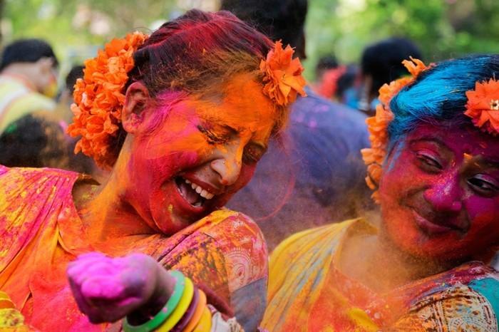 farben festival bunt