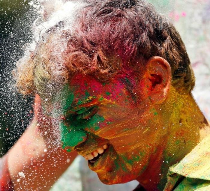 farben festival indien feiern