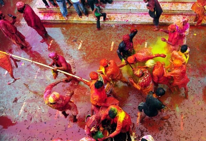 farben festival indien fest