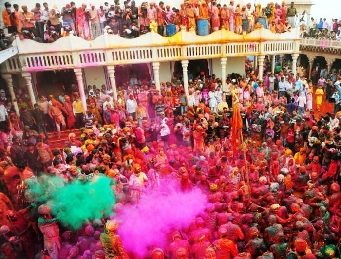 farben festival indien