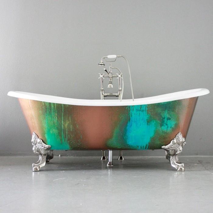 freistehende badewanne badezimmer ideen 3
