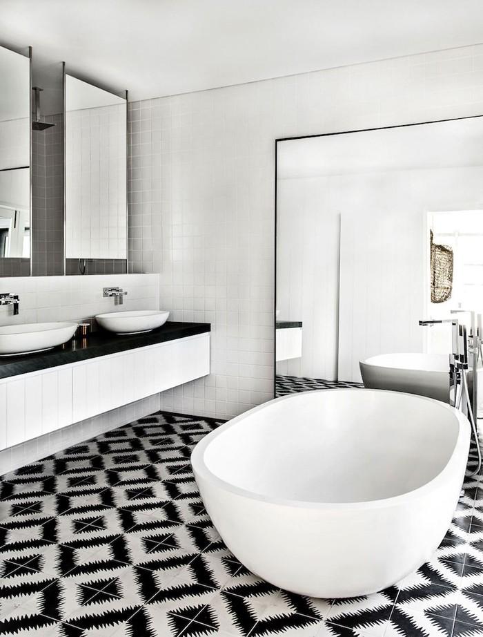 freistehende badewanne badezimmer ideen 13
