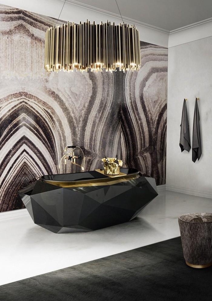 freistehende badewanne badezimmer ideen 17