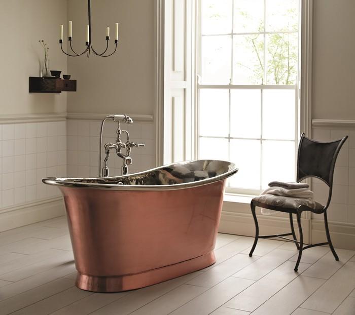 freistehende badewanne badezimmer ideen 20