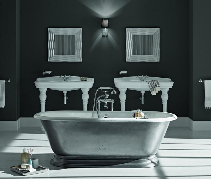 freistehende badewanne badezimmer ideen 25