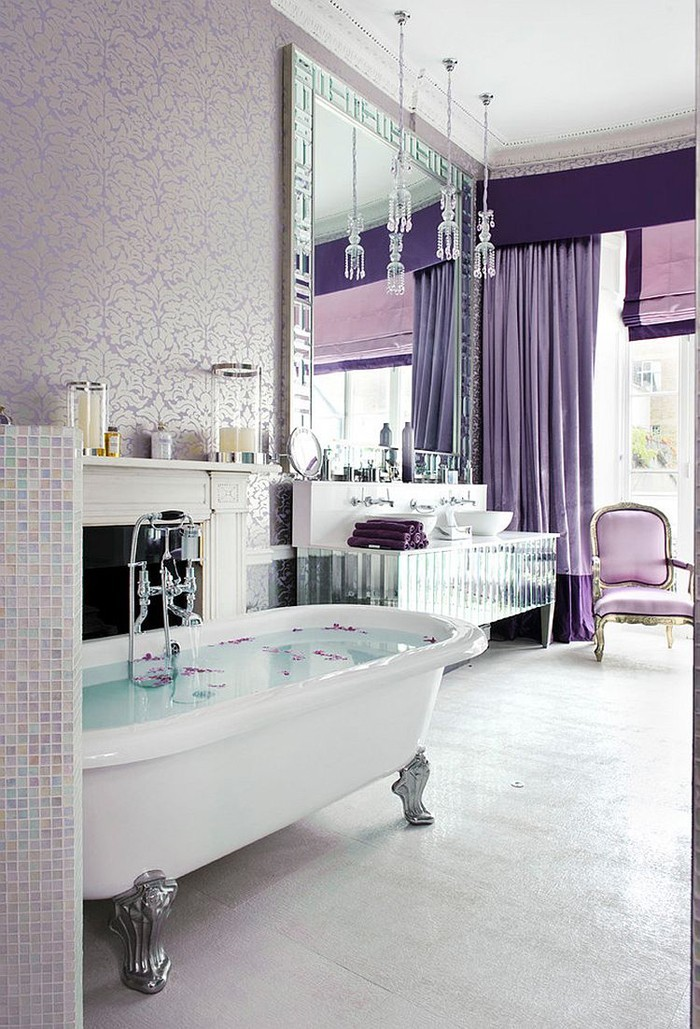freistehende badewanne badezimmer ideen 6