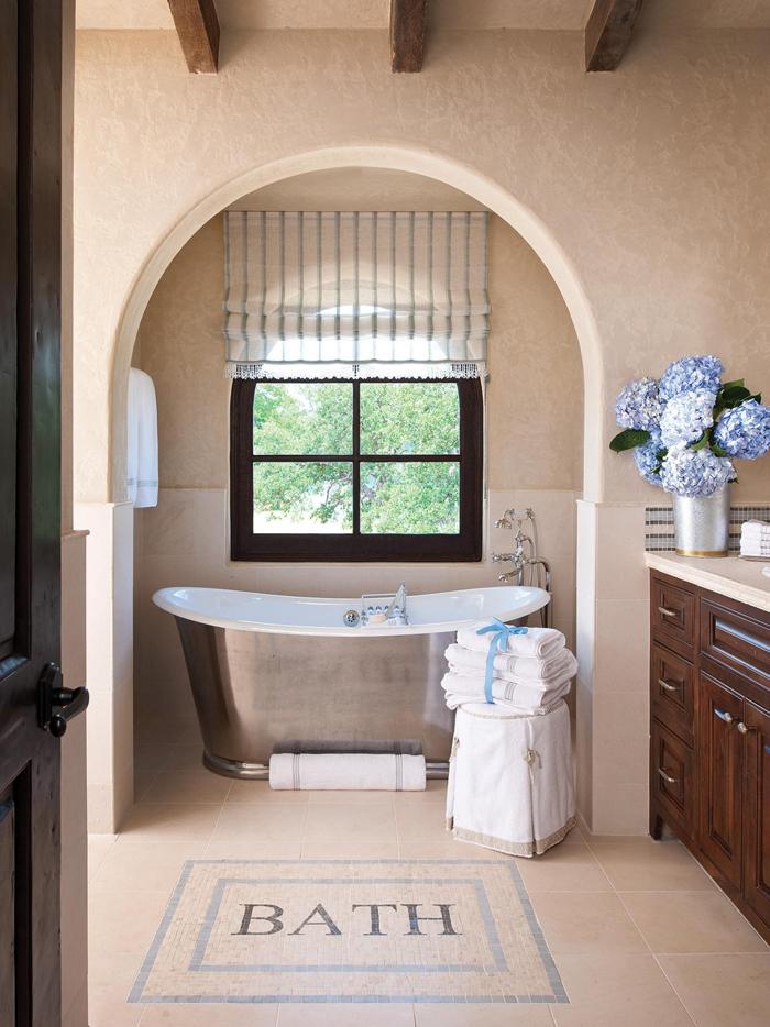 freistehende badewanne badezimmer ideen 8