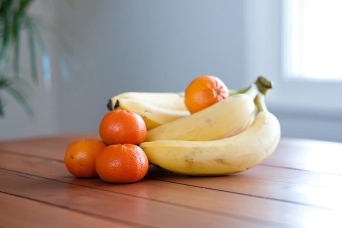gesunde frühstücksideen früchte dekoideen