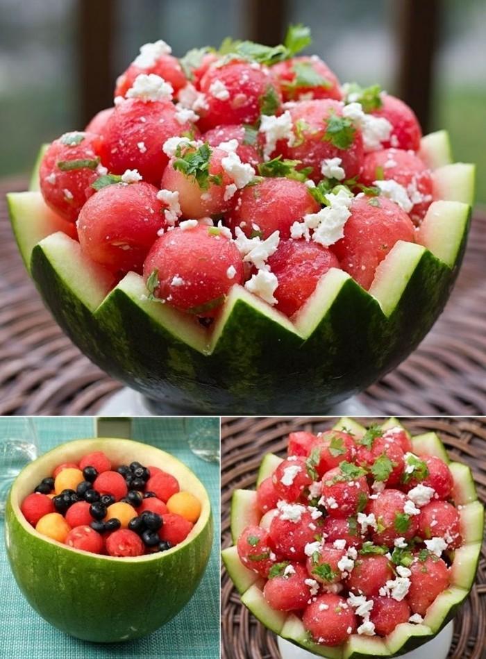 gesunde frühstücksideen partyideen früchte