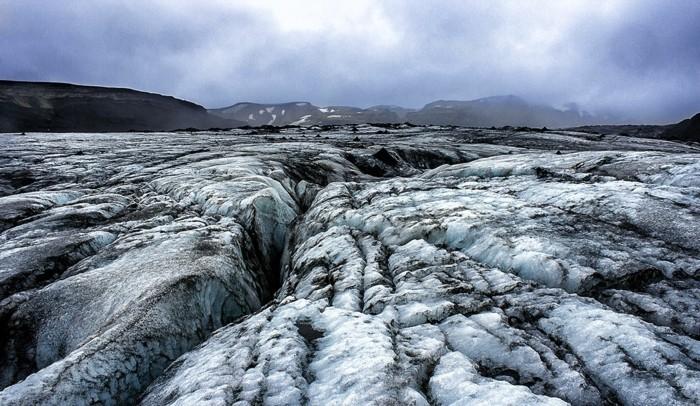gletscher island landschaft