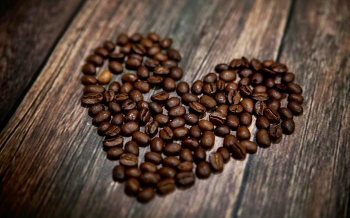 guten morgen kaffee coffee herzform dekoration