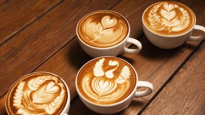 guten morgen kaffee gesund milchschaum