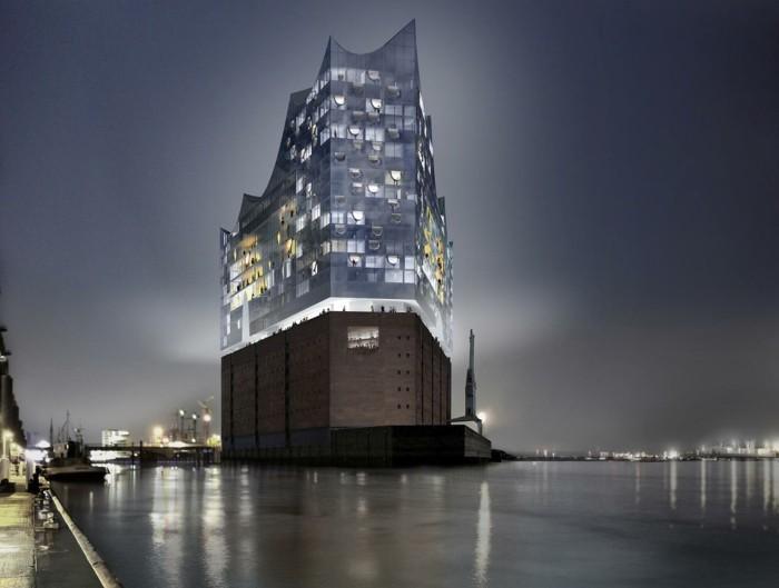 hamburg philharmonie architekturstile
