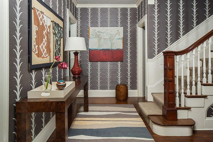 eingangsbereich und flur gestalten in 42 beispielen. Black Bedroom Furniture Sets. Home Design Ideas