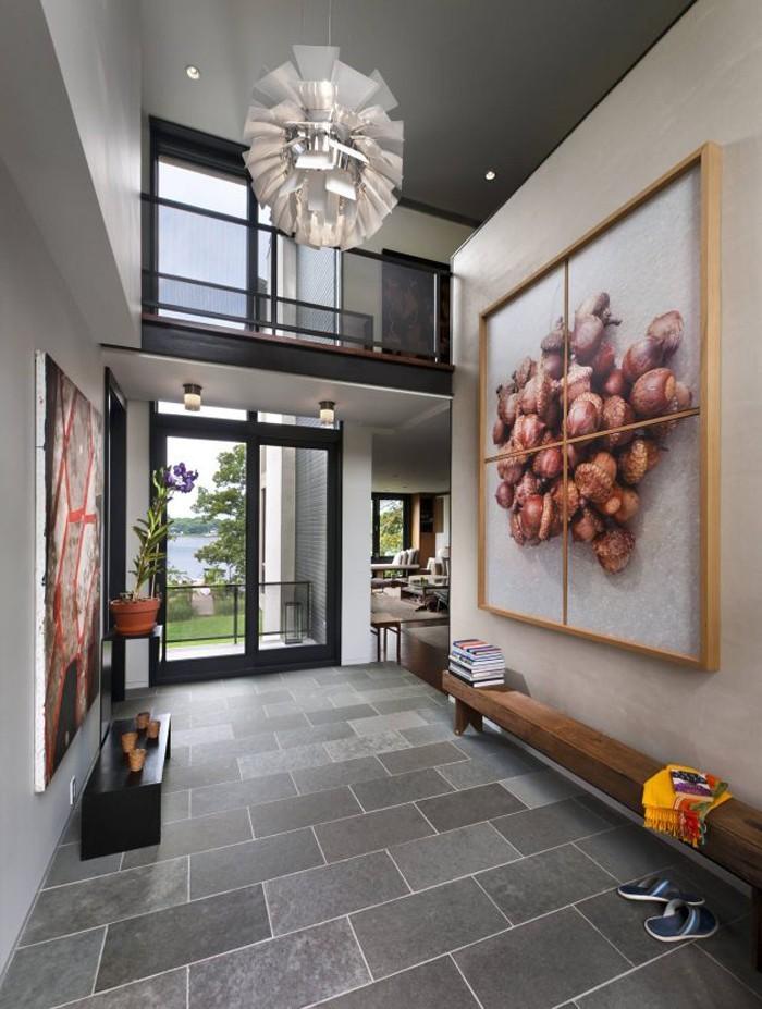 Hauseingang Gestalten eingangsbereich und flur gestalten in 42 beispielen