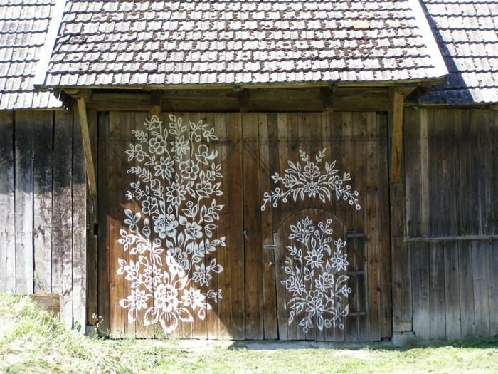 hausfassade gestalten zalipie gartenideen gebäude