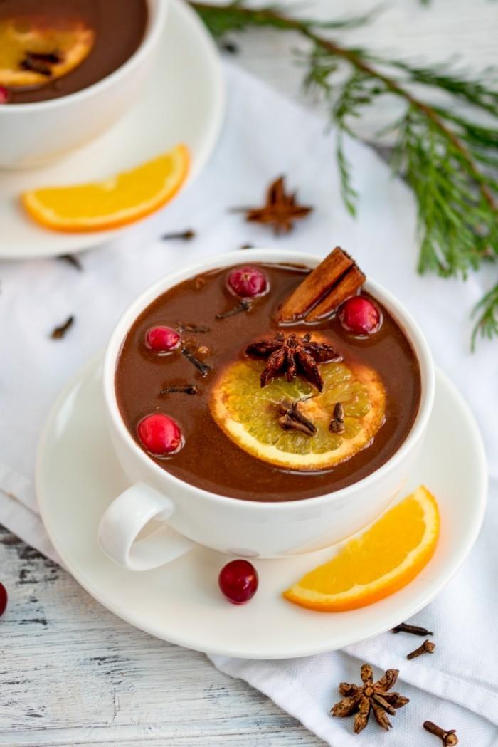 heisse schokolade gesunde schokolade