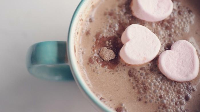 heisse schokolade liebe