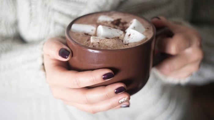 heisse schokolade lieblingsgetraenk