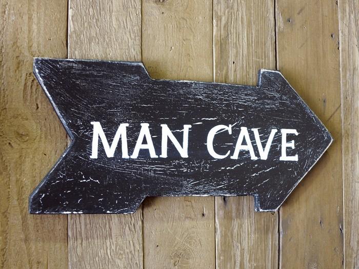 herrenzimmer caveman deko ideen diy ideen 15