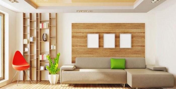Wanddeko modern holz  Holzkunst und kreative Wandgestaltung- 29 Wanddeko Ideen