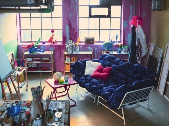 ikea neuheiten beistelltisch rot ps kollektion 2017 sofa metall