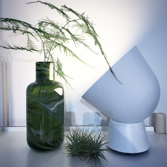 ikea neuheiten glasvase tischleuchte innovativ recycled zimmerpflanze