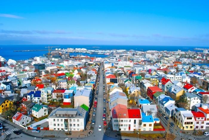 island landschaft hauptstadt