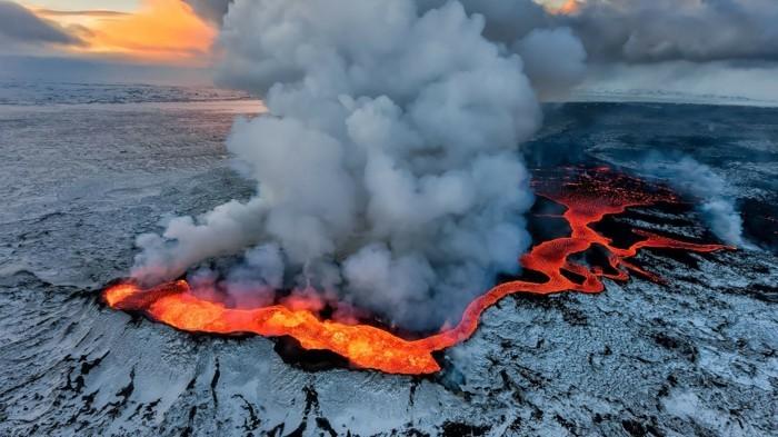 island landschaft vulkane