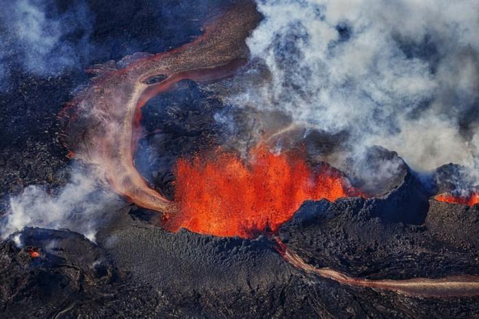 island lanschaft vulkane