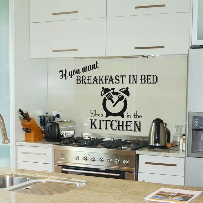 30 Ideas Of Kitchen Wall Art Ideas: 30 Küchen Wandtattoos, Die Als Inspirationsquelle In Der