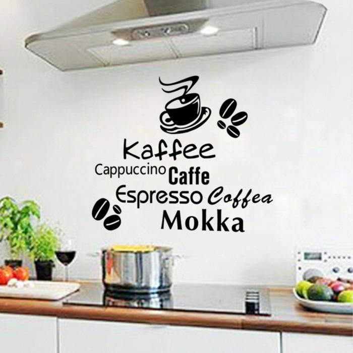 küchen wandtattoos wanddeko ideen pflanzen