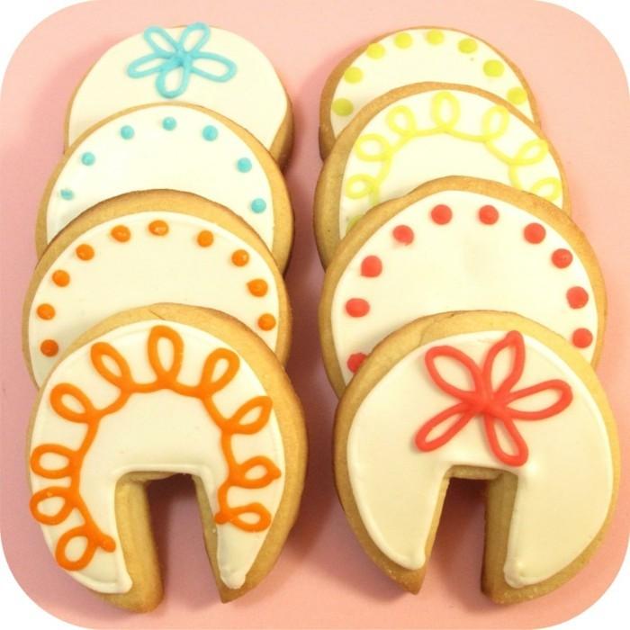 kekse backen dekorieren schöne ideen