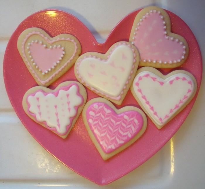 kekse backen herzen valentinstag ideen