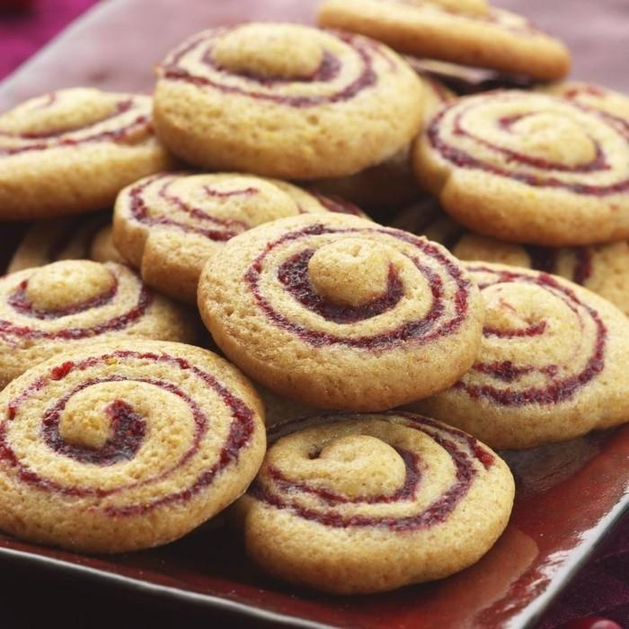 kekse backen honig konfitüre
