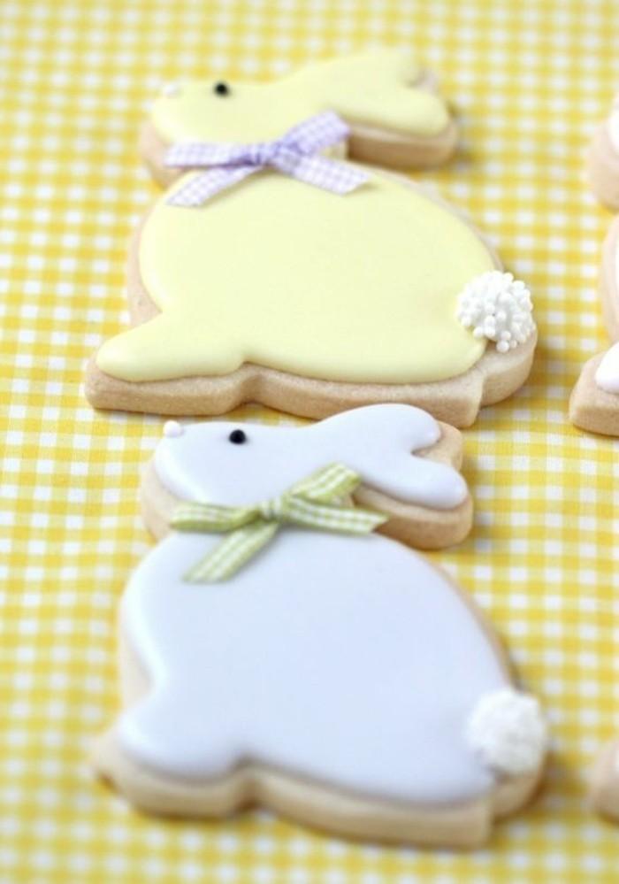 kekse selber backen ideen osterhasen