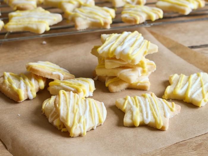 kekse selber backen ideen zitrone