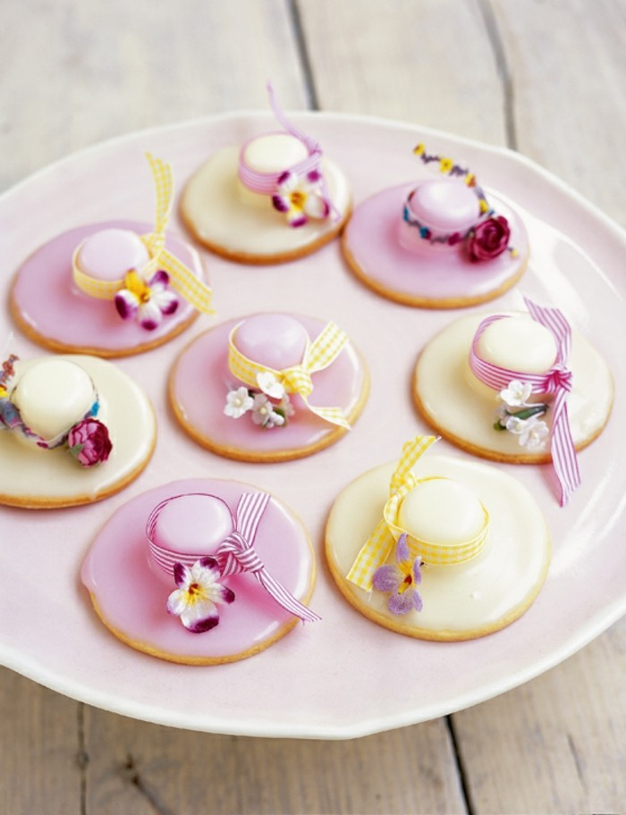 kekse selber backen ostern frühling ausgefallne dekoration