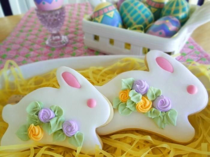 kekse selber backen osterplätzchen ideen