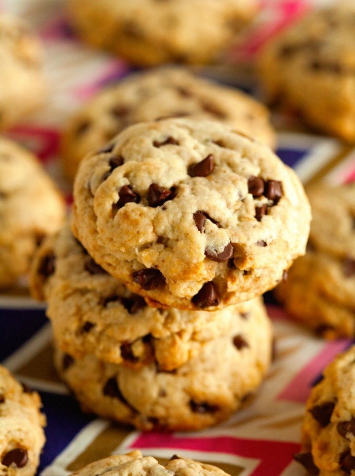 kekse selber backen schokoladentropfen