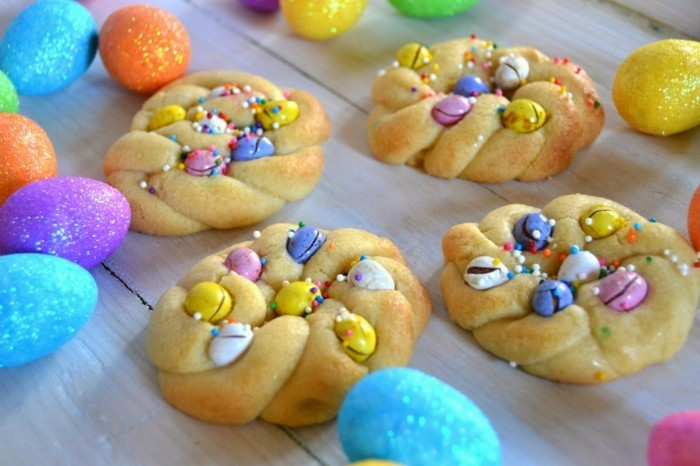 kekse verzieren ausgefallene osterplätzchen dekorieren