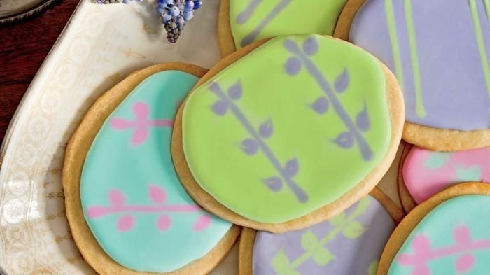 kekse selber backen ideen osterplätzchen backen