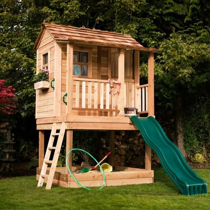 kindergartenhaus gartenhaus holz kleine gartenhäuser