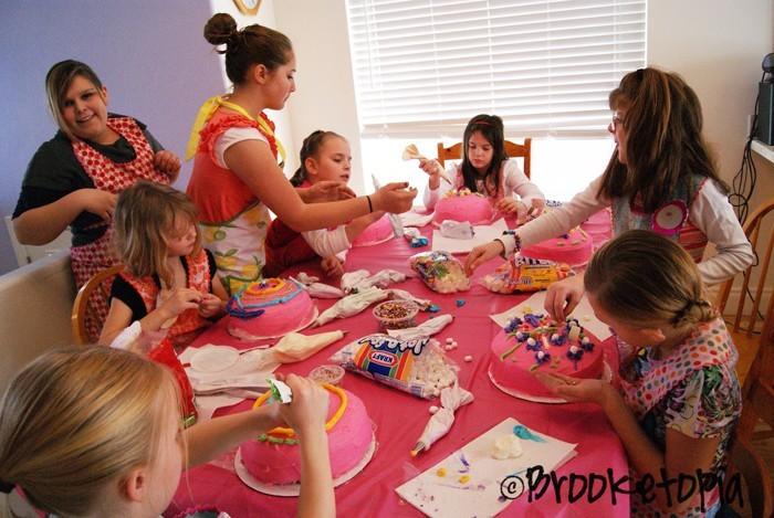 kindergeburtstagstorte kindergeburtstagskuchen mädchen 9 jahre 19