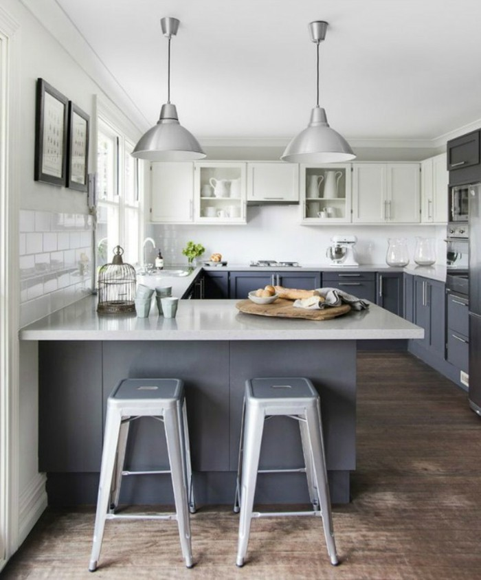 Kleine Küche einrichten - 44 Praktische Ideen für Individualisierung ...