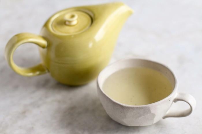 lebensmittel für schöne haut ingwer tee gesund