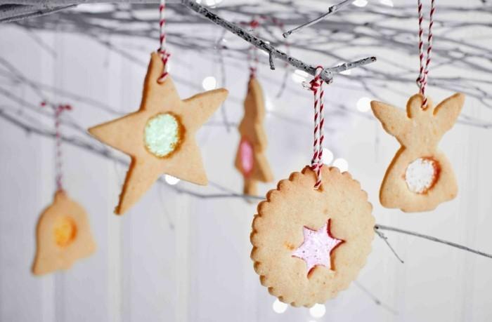 leckere rezeptideen kekse hängen dekoration